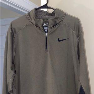 Nike Therma Fit Quarter Zip Sweater